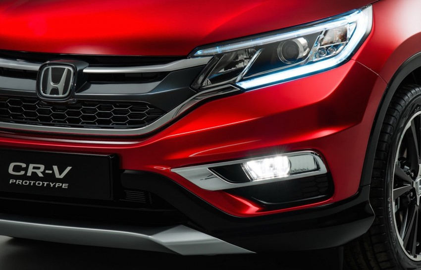 2015 Honda CR-V facelift – 2.4 i-VTEC with CVT for the US, and 1.6 i-DTEC with nine-speed auto for Europe Image #276698