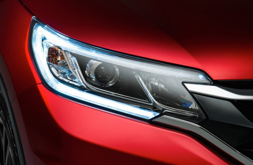 2015 Honda CR-V facelift – 2.4 i-VTEC with CVT for the US, and 1.6 i-DTEC with nine-speed auto for Europe Image #276697