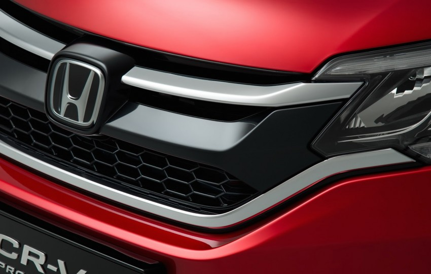 2015 Honda CR-V facelift – 2.4 i-VTEC with CVT for the US, and 1.6 i-DTEC with nine-speed auto for Europe Image #276696
