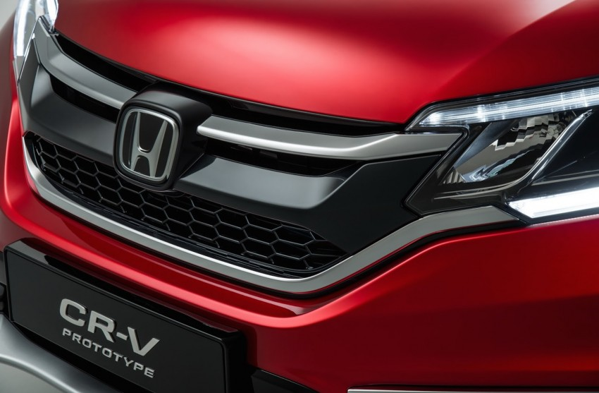 2015 Honda CR-V facelift – 2.4 i-VTEC with CVT for the US, and 1.6 i-DTEC with nine-speed auto for Europe Image #276695