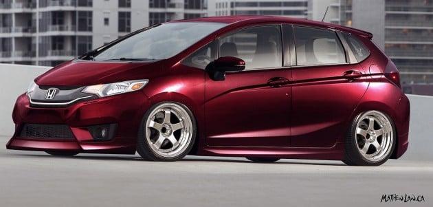 Modified Honda Jazz models to feature at SEMA 2014
