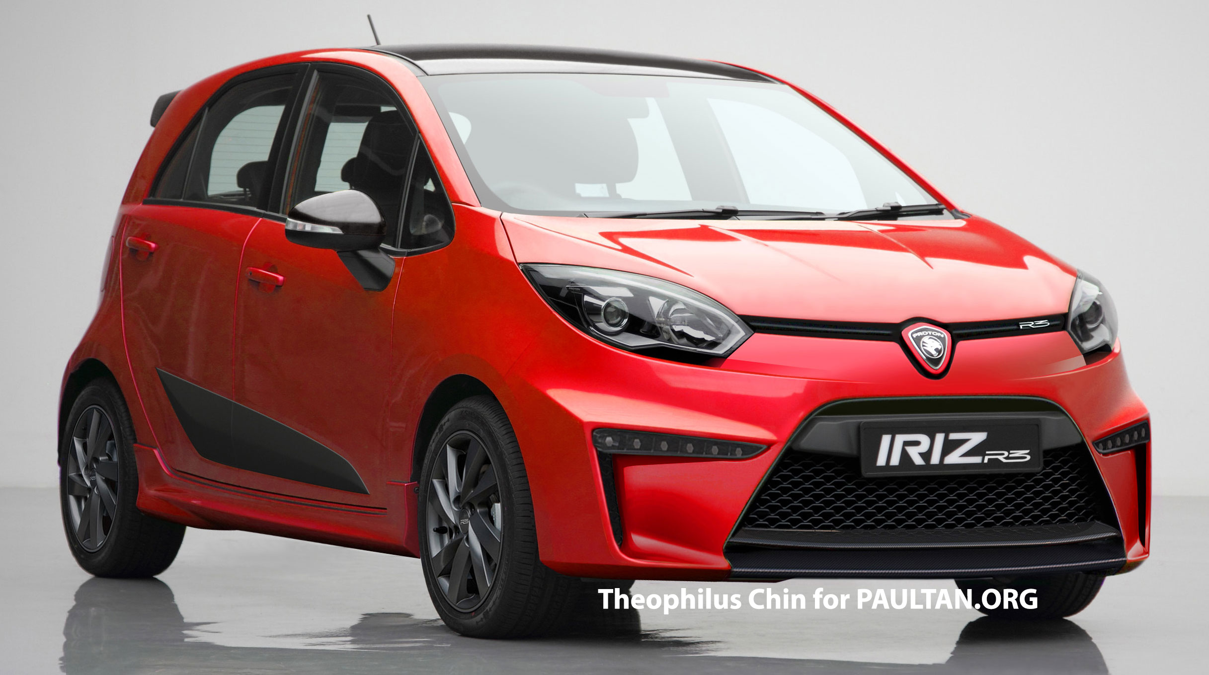 Rendered Proton Iriz R3 Hot Hatch For The Future