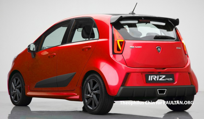 RENDERED: Proton Iriz R3 – hot-hatch for the future? Image #278788