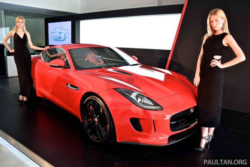 Jaguar F-Type Coupe launched – yours from RM900k Image #283810