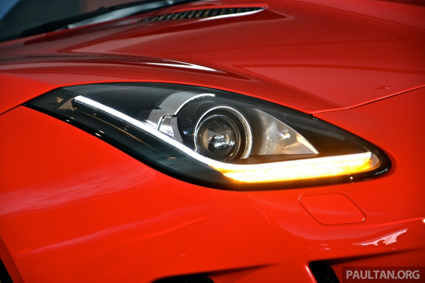 Jaguar F-Type Coupe launched – yours from RM900k Image #283812