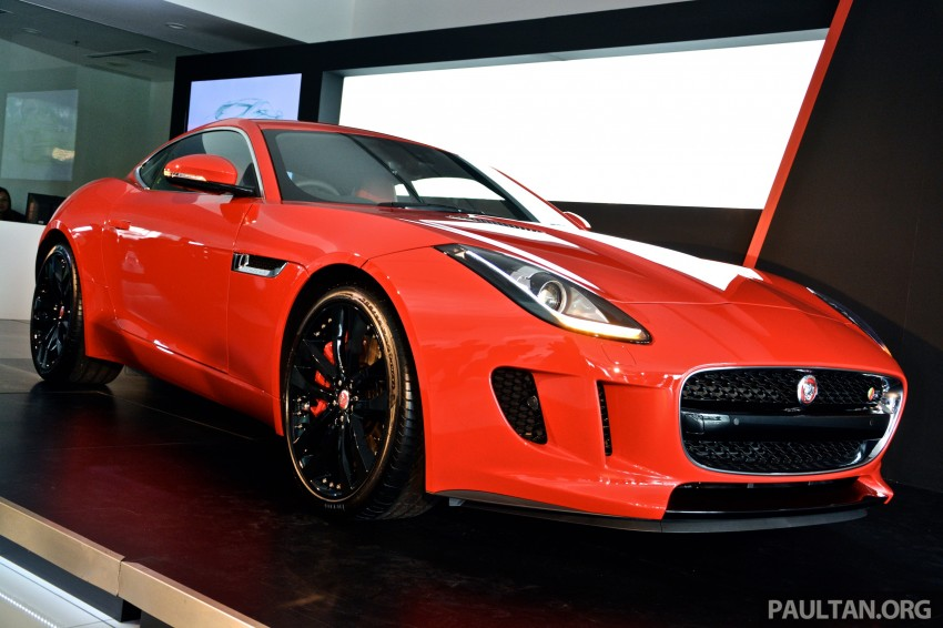 Jaguar F-Type Coupe launched – yours from RM900k Image #283815