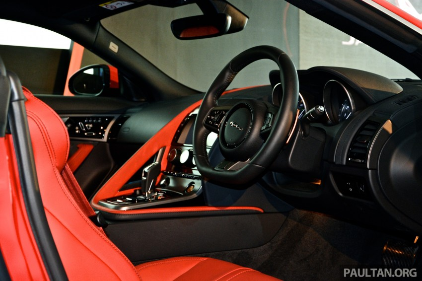Jaguar F-Type Coupe launched – yours from RM900k Image #283816