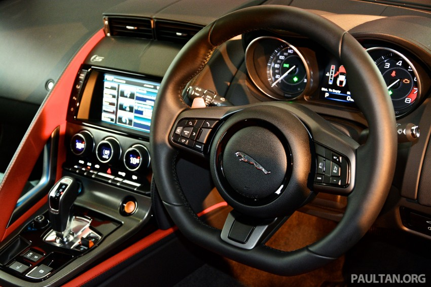 Jaguar F-Type Coupe launched – yours from RM900k Image #283824