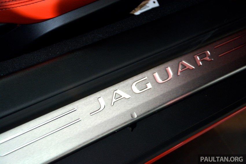 Jaguar F-Type Coupe launched – yours from RM900k Image #283825