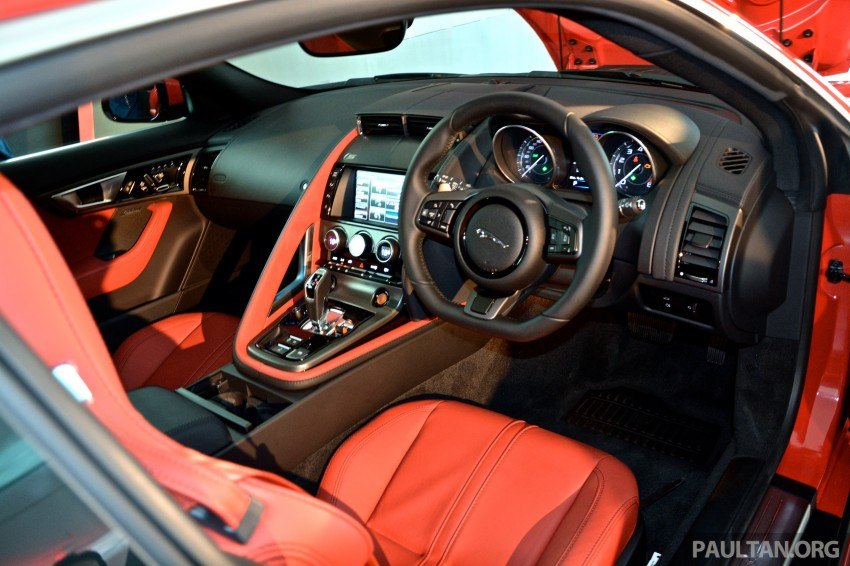 Jaguar F-Type Coupe launched – yours from RM900k Image #283826