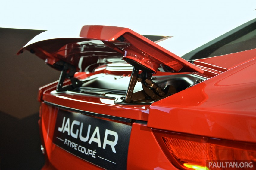 Jaguar F-Type Coupe launched – yours from RM900k Image #283828