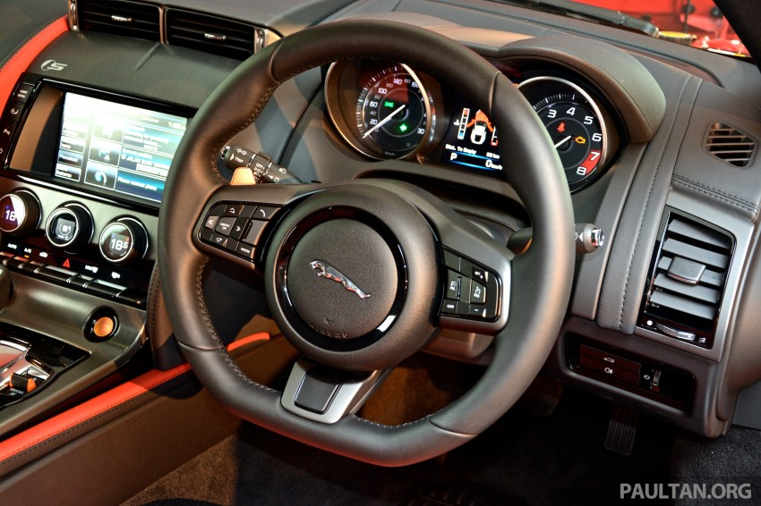 Jaguar F-Type Coupe launched – yours from RM900k Image #283840