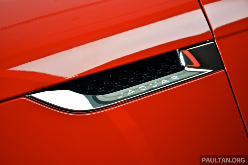 Jaguar F-Type Coupe launched – yours from RM900k Image #283857
