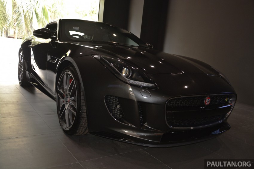 Jaguar F-Type Coupe launched – yours from RM900k Image #283860