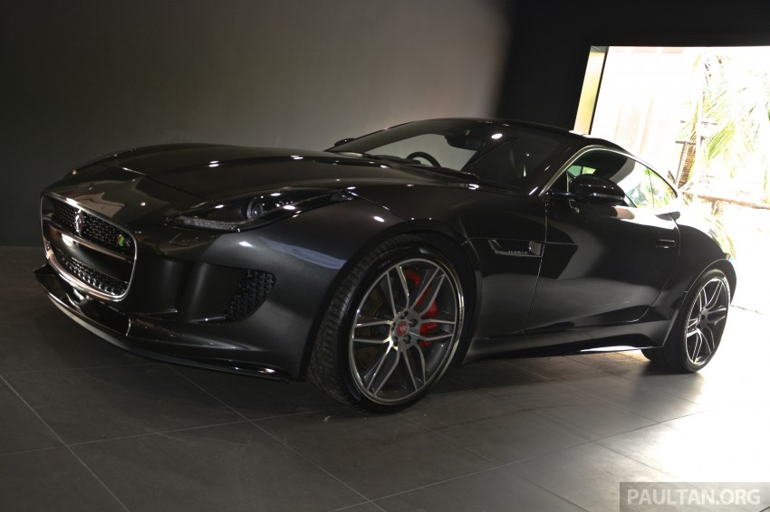 Jaguar F-Type Coupe launched – yours from RM900k Image #283861