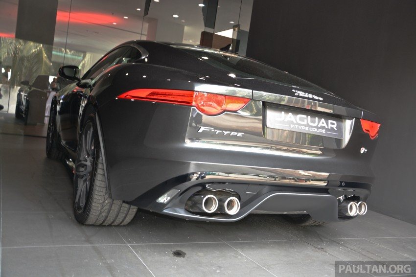 Jaguar F-Type Coupe launched – yours from RM900k Image #283862