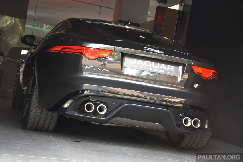 Jaguar F-Type Coupe launched – yours from RM900k Image #283863