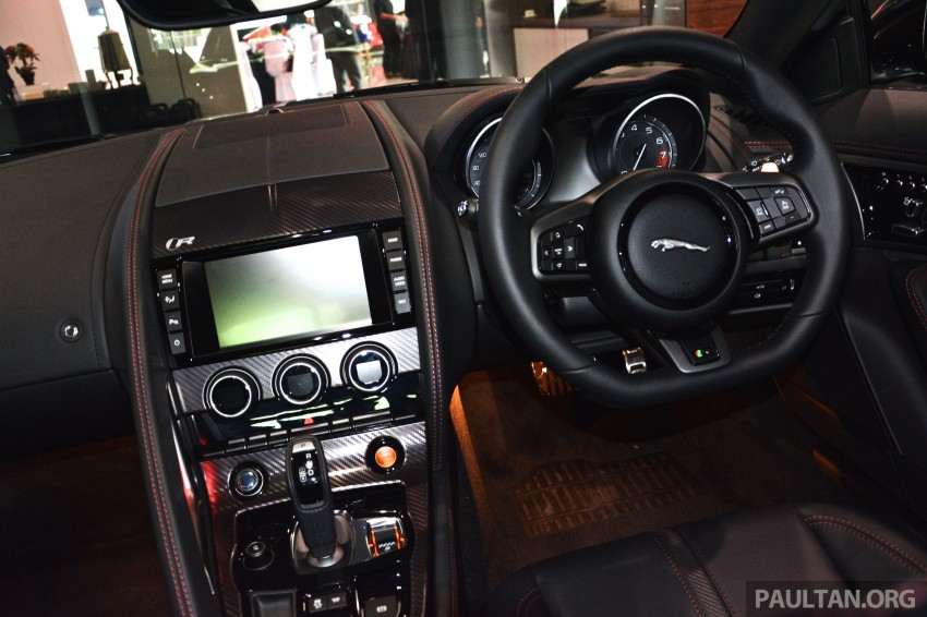 Jaguar F-Type Coupe launched – yours from RM900k Image #283871