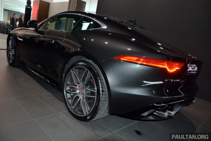 Jaguar F-Type Coupe launched – yours from RM900k Image #283875