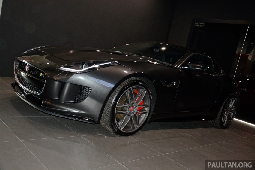 Jaguar F-Type Coupe launched – yours from RM900k Image #283876