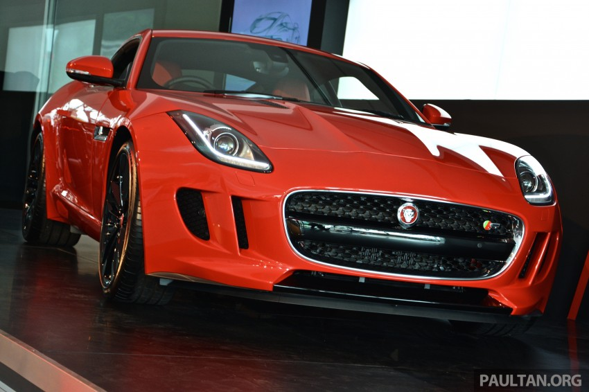 Jaguar F-Type Coupe launched – yours from RM900k Image #283877