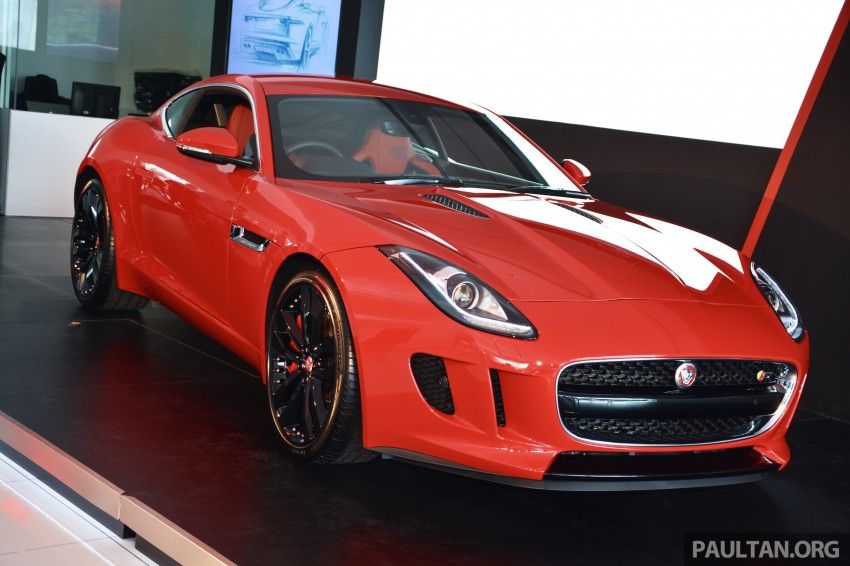Jaguar F-Type Coupe launched – yours from RM900k Image #283878