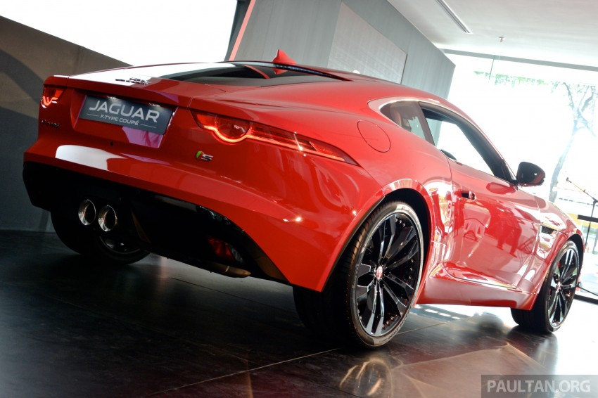 Jaguar F-Type Coupe launched – yours from RM900k Image #283882