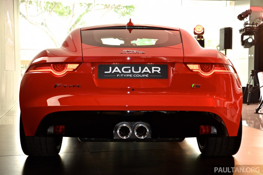 Jaguar F-Type Coupe launched – yours from RM900k Image #283883