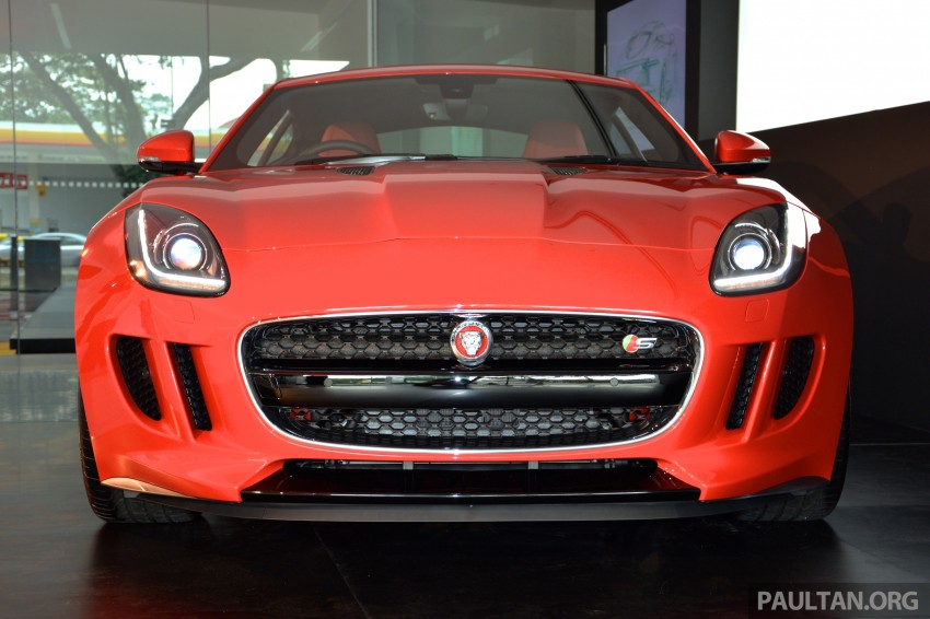Jaguar F-Type Coupe launched – yours from RM900k Image #283885