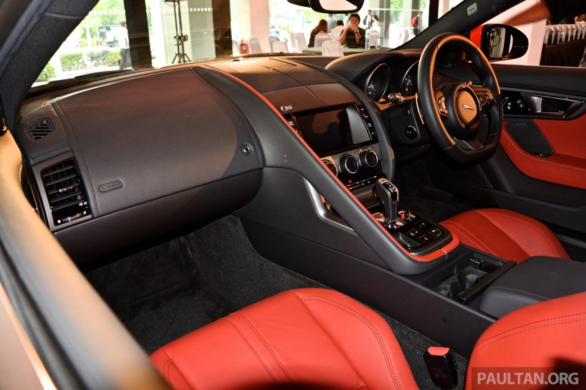 Jaguar F-Type Coupe launched – yours from RM900k Image #283888