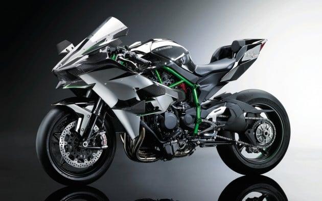 Kawasaki Ninja H2r Mad 300 Hp Supercharged Bike