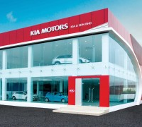Kia JJ Red Cube showroom