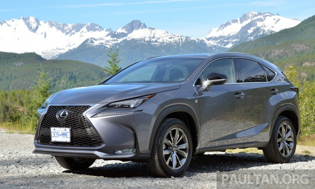 lexus nx suv open for booking in malaysia - from rm300k est