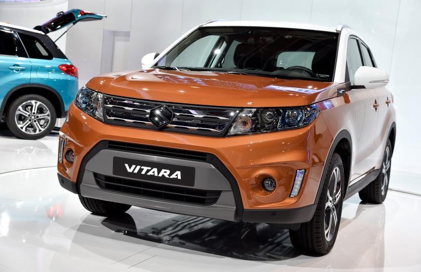 Suzuki Vitara – B-segment SUV fully unveiled in Paris Image #277549