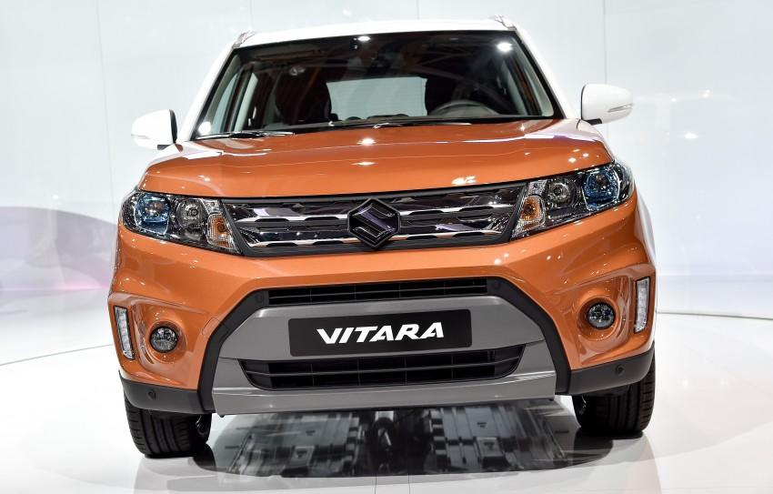 Suzuki Vitara – B-segment SUV fully unveiled in Paris Image #277547