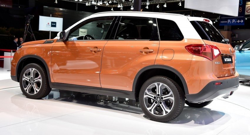 Suzuki Vitara – B-segment SUV fully unveiled in Paris Image #277551