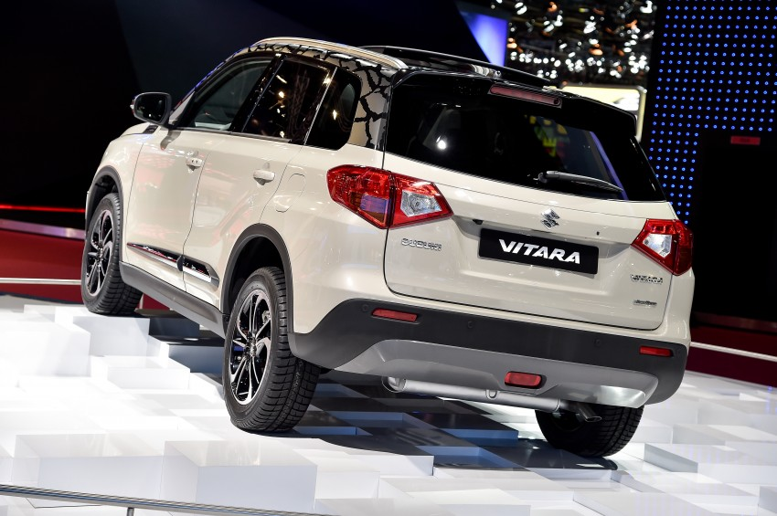 Suzuki Vitara – B-segment SUV fully unveiled in Paris Image #277552