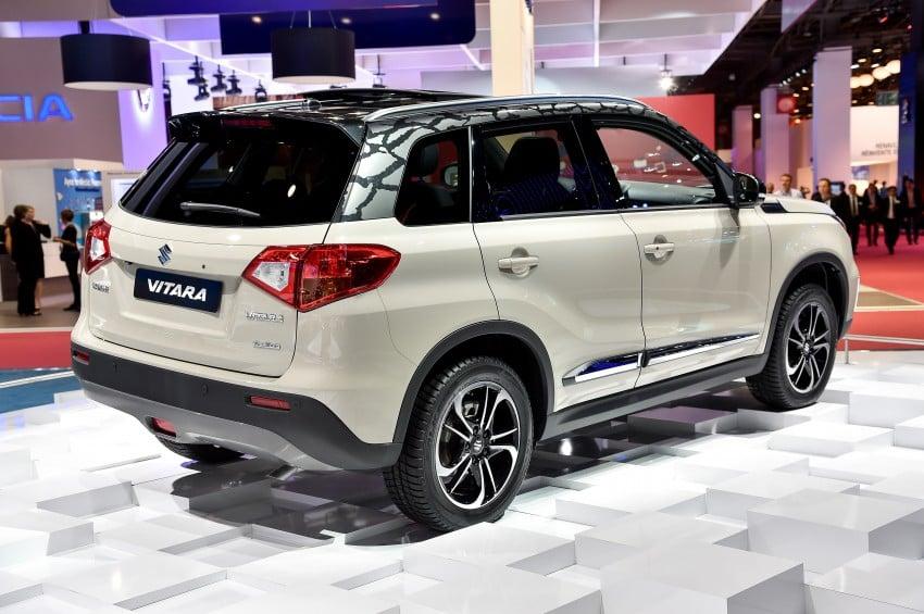 Suzuki Vitara – B-segment SUV fully unveiled in Paris Image #277554