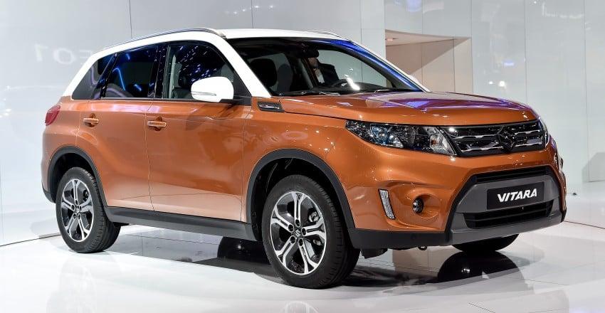 Suzuki Vitara – B-segment SUV fully unveiled in Paris Image #277546