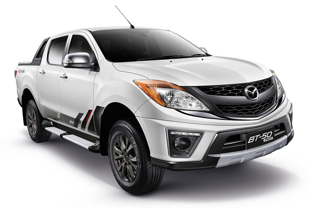 Mazda BT-50 Pro Eclipse special edition for Thailand Image ...