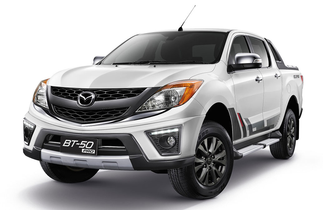 Mazda BT-50 Pro Eclipse special edition for Thailand