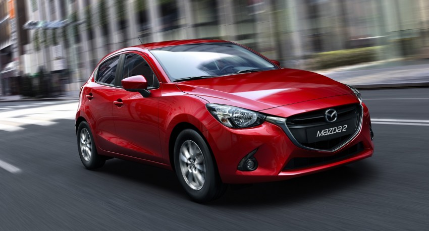 2015 Mazda 2 – European-market supermini detailed Image #280145