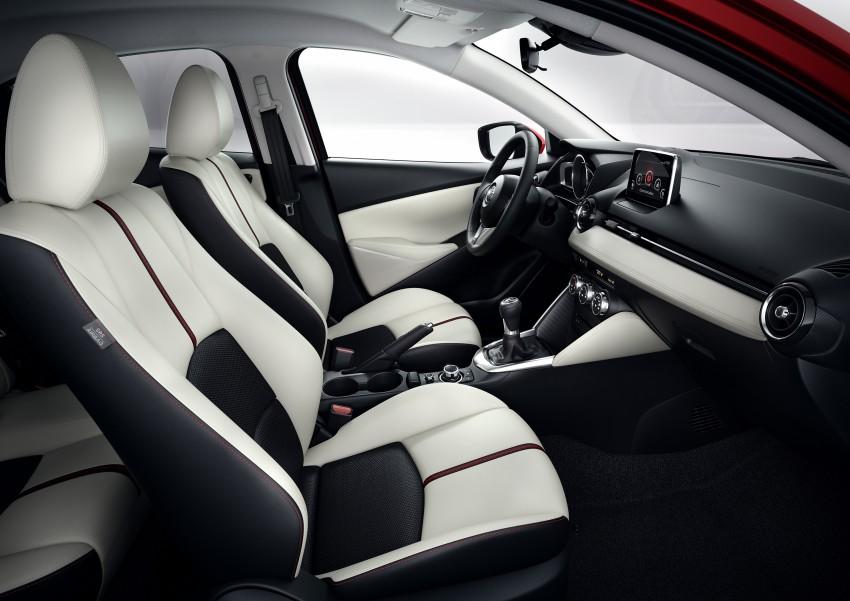 2015 Mazda 2 – European-market supermini detailed Image #280147