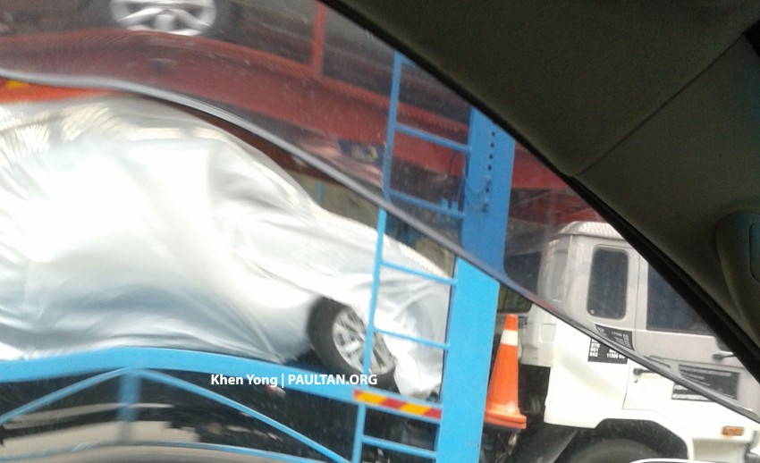 SPYSHOTS: New Nissan X-Trail sighted on trailer Image #276850