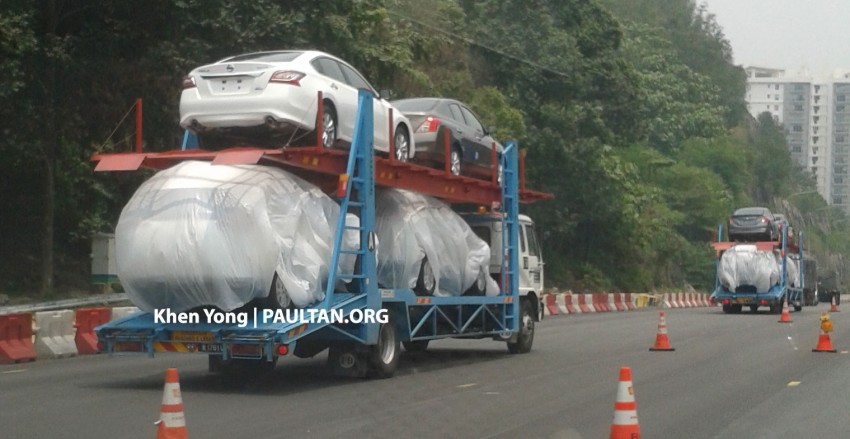 SPYSHOTS: New Nissan X-Trail sighted on trailer Image #276851