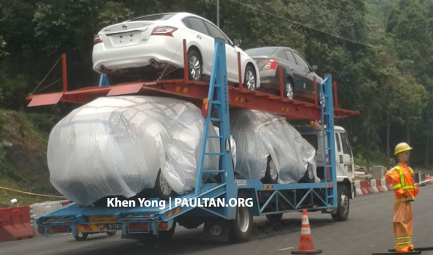 SPYSHOTS: New Nissan X-Trail sighted on trailer