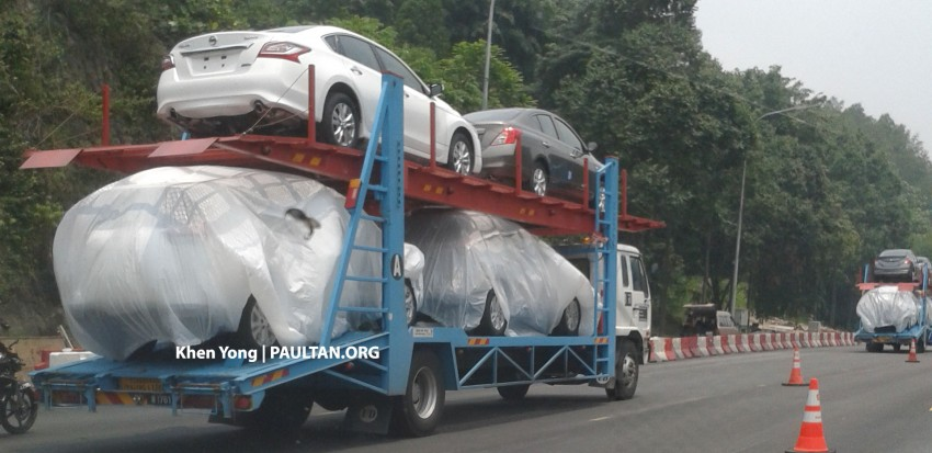 SPYSHOTS: New Nissan X-Trail sighted on trailer Image #276853