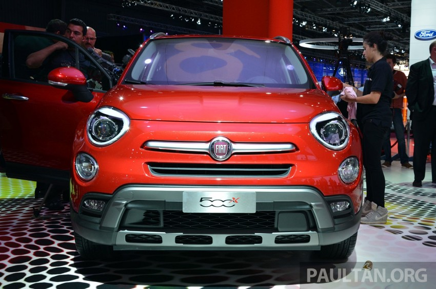 Fiat 500X mini crossover officially unveiled in Paris Image #277842