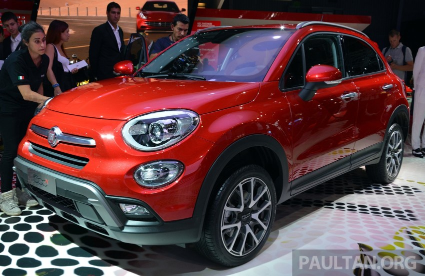 Fiat 500X mini crossover officially unveiled in Paris Image #277844
