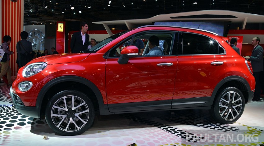 Fiat 500X mini crossover officially unveiled in Paris Image #277845